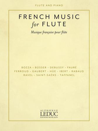 French Music for Flute woodwind sheet music cover