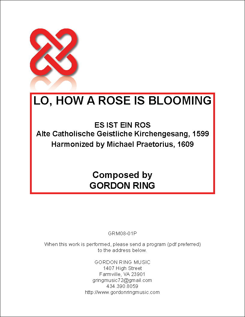 LO, HOW A ROSE IS BLOOMING