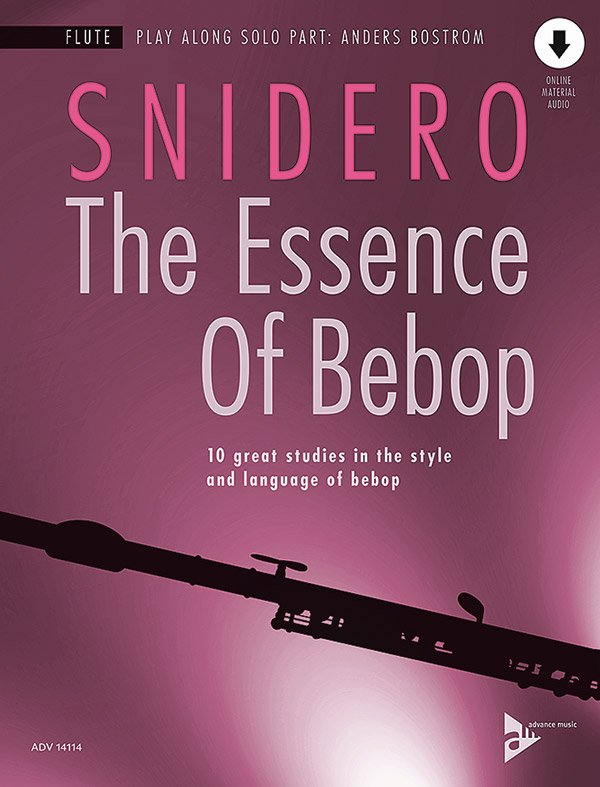 The Essence of Bebop jazz sheet music cover