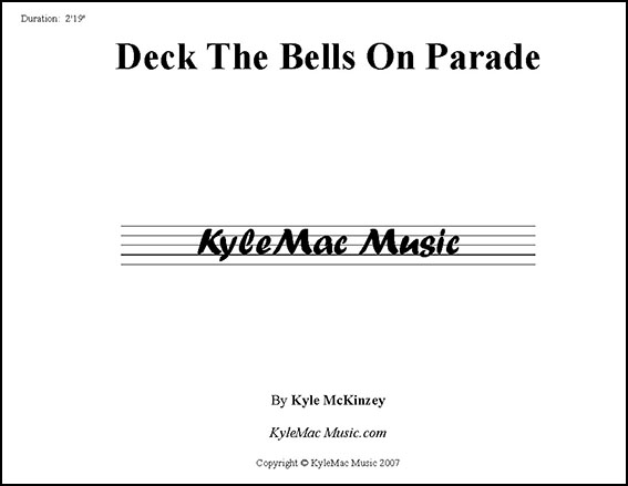 Deck the Bells On Parade
