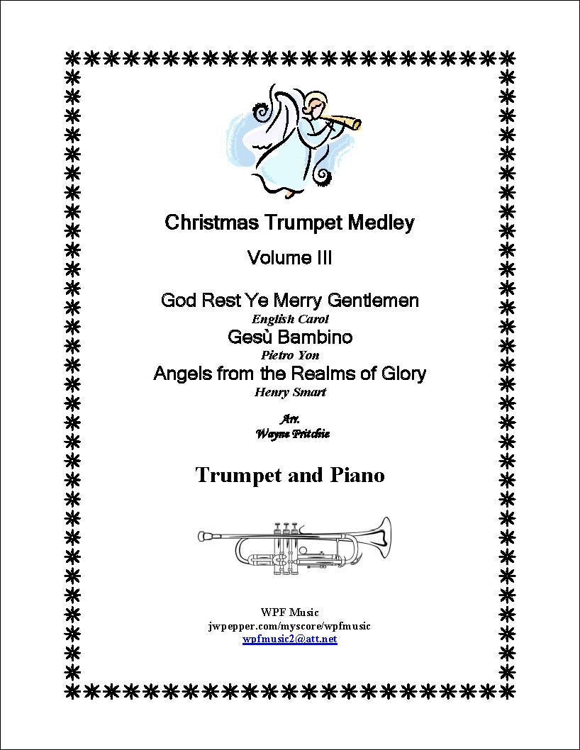 Christmas Trumpet Medley Volume III