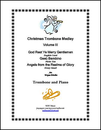 Christmas Trombone Medley Volume III