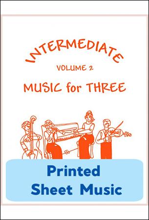 Intermediate Music for Three Vol. 2