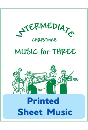 Intermediate Christmas Music for Three