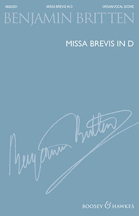 Missa Brevis in D for Boys' Voices and Organ