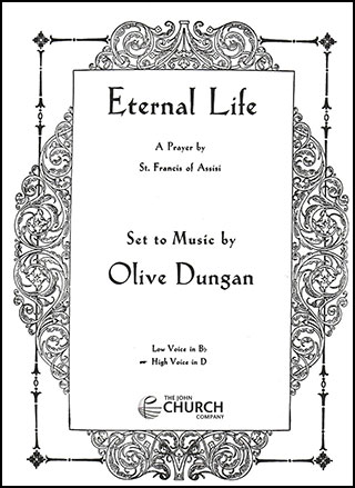 Eternal Life-Vocal Solo