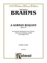 A German Requiem (Ein Deutsches Requiem), Op. 45