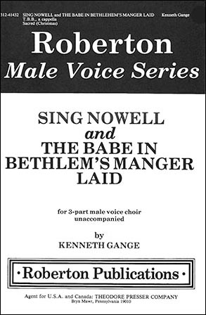 Sing Nowell/Babe in Bethlehems