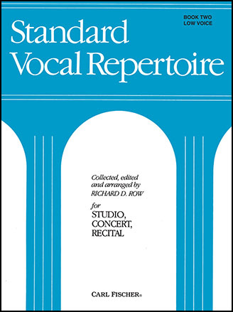 Standard Vocal Repertoire, Vol 2