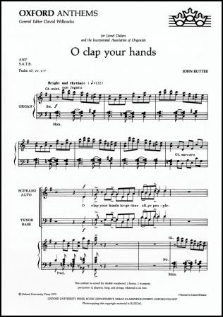 O Clap Your Hands Cover