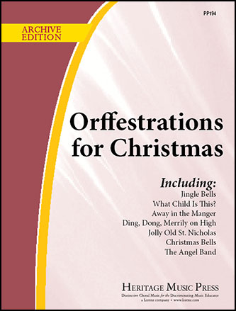 Orffestrations for Christmas