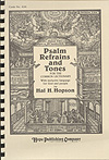 Psalm Refrains and Tones