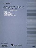 Manuscript Paper-Deluxe Pad