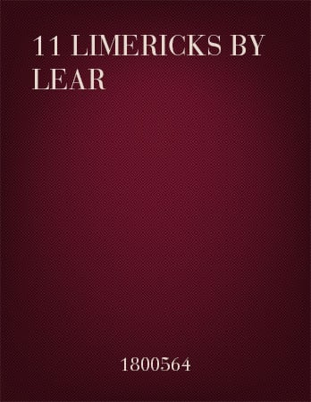 11 Limericks by Lear