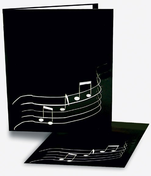 Model 101 Paperboard Choral Folder