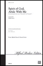 Spirit of God Abide with Me