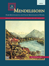 24 Songs-Mendelssohn