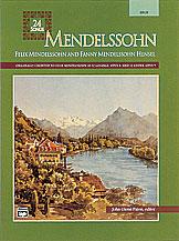 24 Songs-Mendelssohn-High