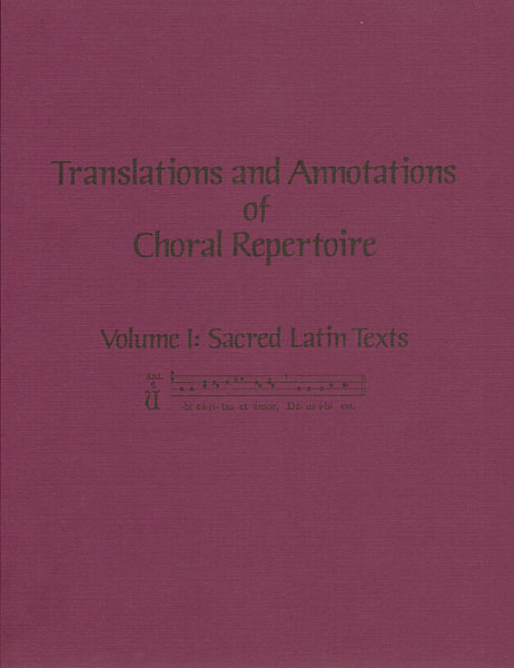 Translations and Annotations, Vol. 1