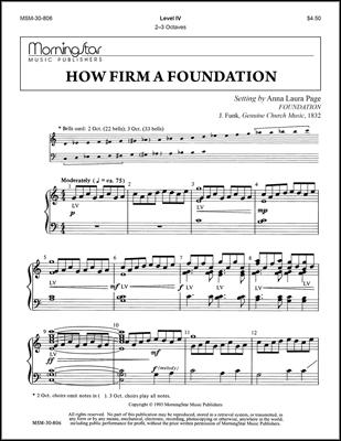 How Firm a Foundationves