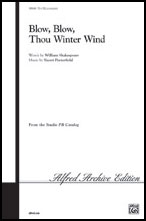 Blow, Blow Thou Winter Wind