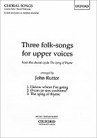 Three Folksongs for Upper Voices