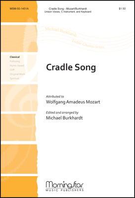 Cradle Song-Singer Part