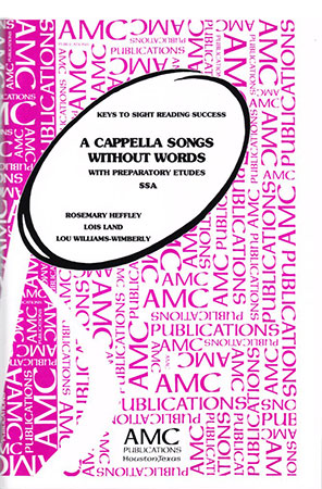 A Cappella Songs Without Words