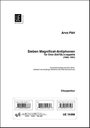 Sieben Magnificat Antiphonen