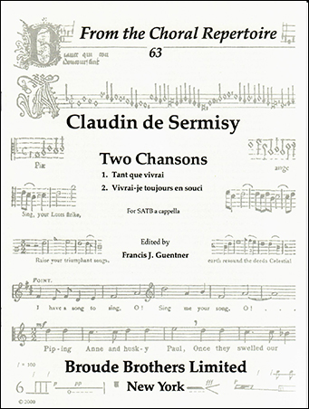 Two Chansons