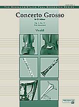 Concerto Grosso in D Min-Full Orch