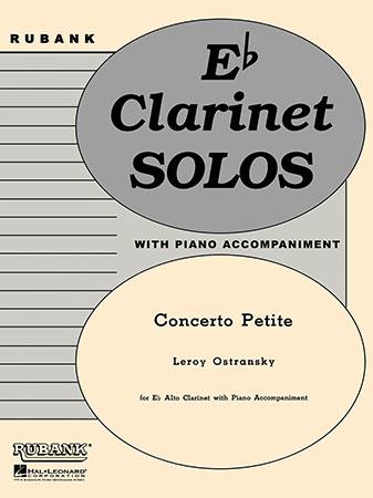 Concerto Petite-Alto Clarinet Solo