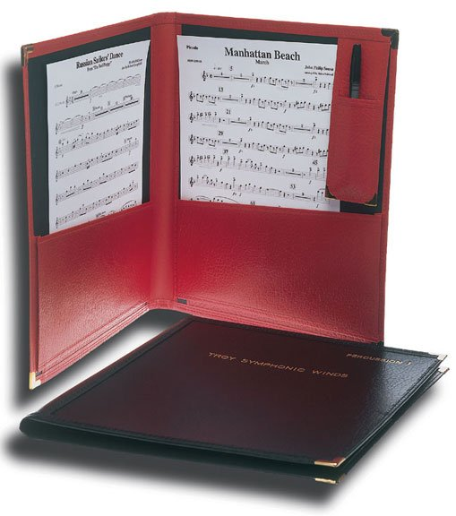 Model 3501 Instrumental Folder (Black)| J W  Pepper Sheet Music