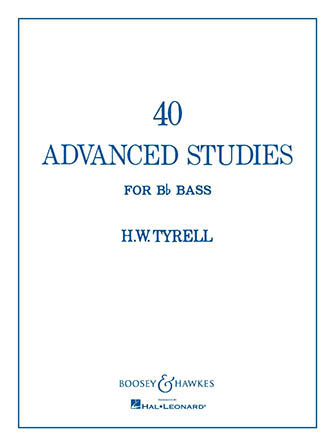 40 Advanced Studies for Tuba Cover
