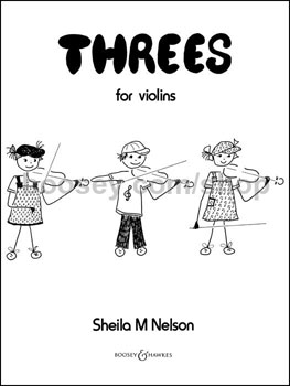 Threes for Violins