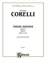 12 Sonatas Op. 5-Violin/Piano