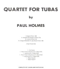 Quartet for Tubas