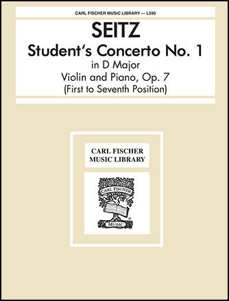 Students Concerto No. 1-D Major-Violin