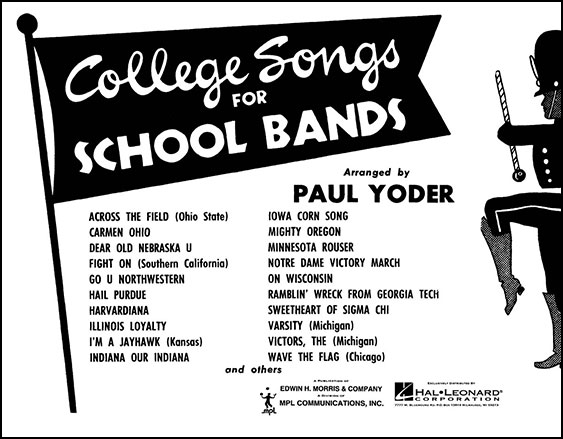 College Songs for School Bands