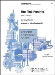 The Pink Panther brass sheet music cover
