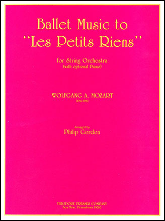 Ballet Music to Les Petits Riens
