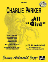 Jamey Aebersold Jazz, Volume   6 (Charlie Parker - All Bird)