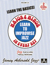 Jamey Aebersold Jazz, Volume  24 (Major and Minor)