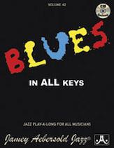 Jamey Aebersold Jazz, Volume  42 (Blues in All Keys)