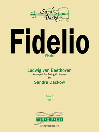 Finale from Fidelio-String Orch