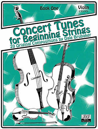 Concert Tunes for Beginning Strings Cover