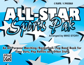 All-Star Sports Pak marching band sheet music cover