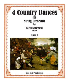 Four Country Dances                 Thumbnail