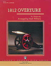 1812 Overture choral sheet music cover