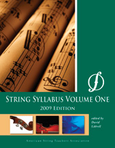 ASTA String Syllabus No. 1